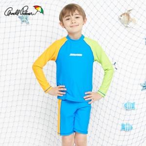 [ARNOLD PALMER] 래쉬가드SET(상하의+수모) 남아수영복(APB-O713B)/아동수영복/아동래쉬가드/비치수영복